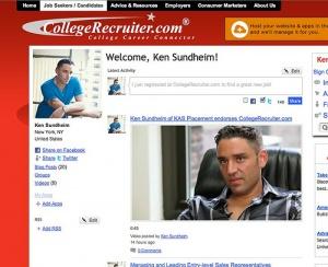 Ken Sundheim on College Recruiter